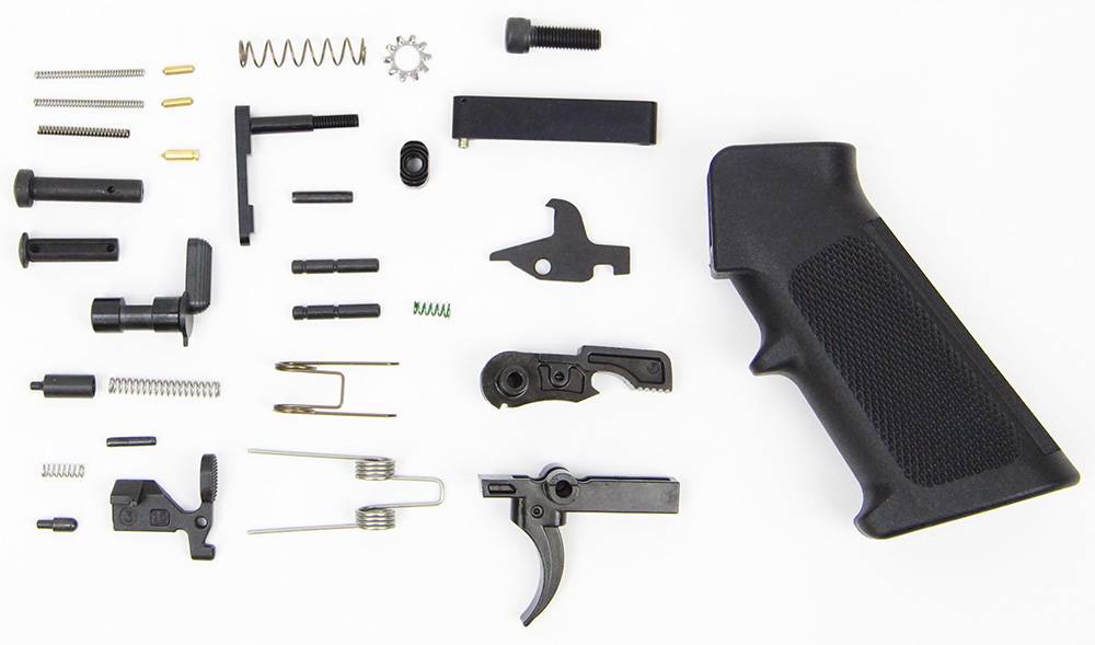 Anderson Manufacturing Lower Parts Kit - Gen 2 Black Stainless