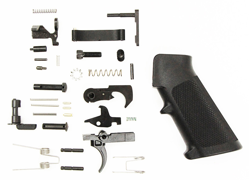 Anderson Manufacturing Lower Parts Kit - Blackened Stainless