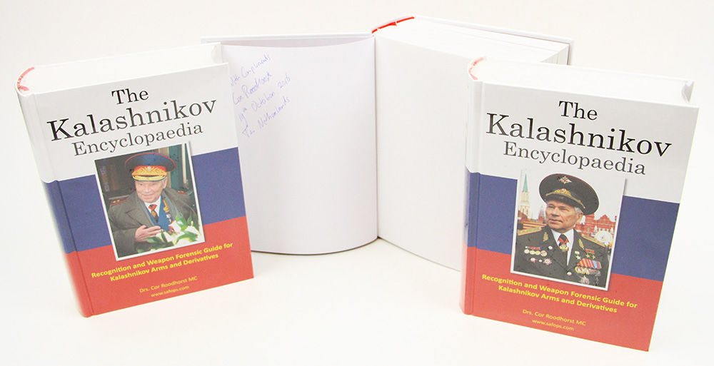 The Kalashnikov Encylopaedia - Signed Edition - Free US Shipping