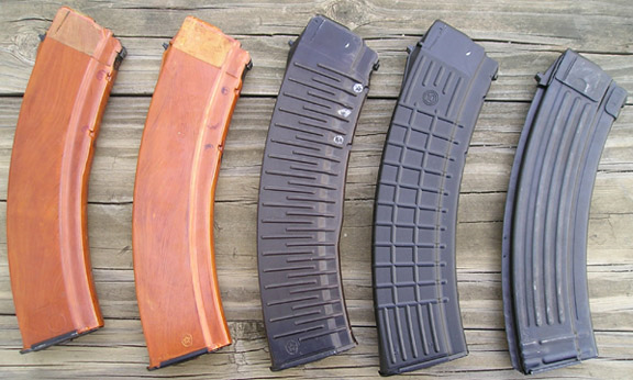 east german bakelite ak 74 magazine